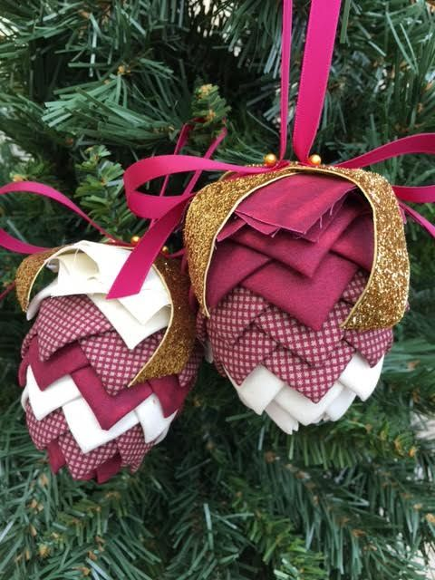 26 best Pinecone Ornaments images on Pinterest | Natal, Pdf and ...