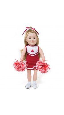 Canadian girl Maplelea cheerleading outfit Pom Pom Power
