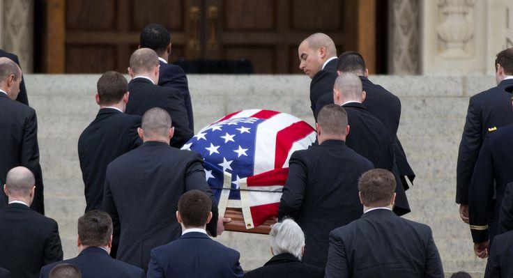 Scalia's funeral Mass draws Washington elite