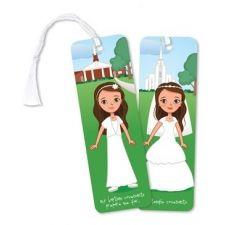 Marcador 3D de niña a matrimonio