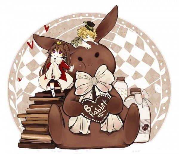 Tags: Anime, Pandora Hearts, Oz Vessalius, Alice Baskerville