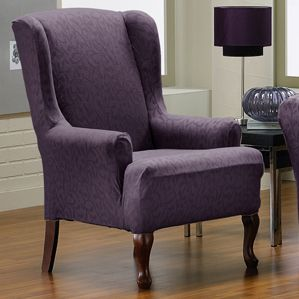 1000 Images About Purple Aubergine Furniture Slipcovers