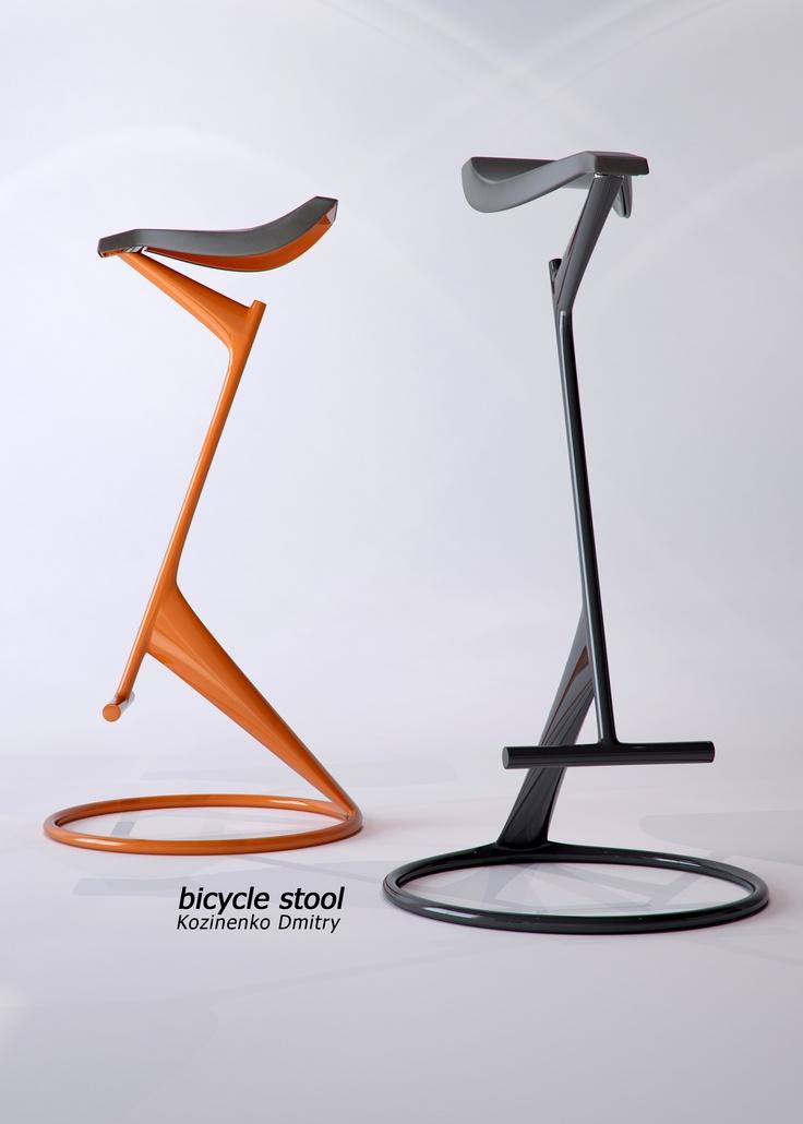 Bicycle stool - design Dmitry Kozinenko