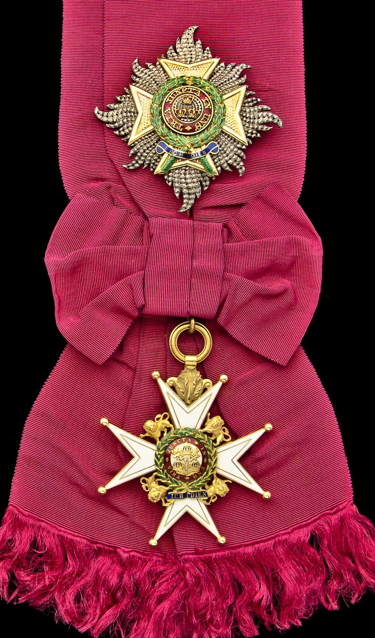 Order of the Bath, Military Division, Knight Grand Cross (G.C.B.) set of Insignia, sash Badge, 81mm, silver-gilt and enamel, reverse central medallion slightly loose; Star, 97mm x 92mm, silver, gold, and enamel, with gold retaining pin, very minor enamel damage, therefore nearly extremely fine, with full sash riband, in Garrard, London, case of issue (2)