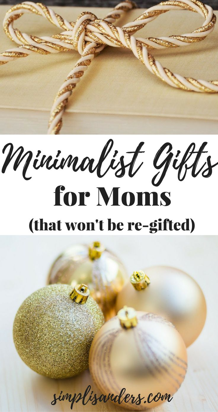 Minimalist Gifts That Won't Be Re-gifted