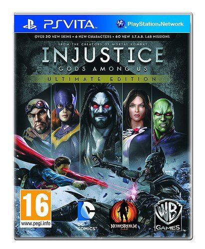 Injustice: Gods Among Us Ultimate Edition - PlayStation Vita - http://battlefield4ps4.com/injustice-gods-among-us-ultimate-edition-playstation-vita/