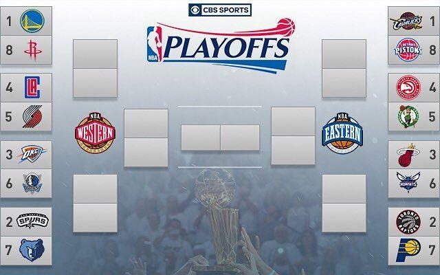 플레이오프 시작! #NBA #playoffs