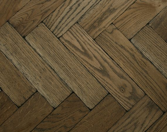 Worn Vintage Oak Parquet Flooring Oak parquet flooring