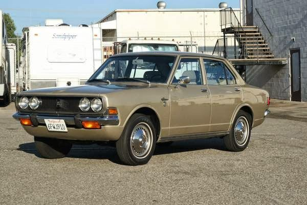 Daily Turismo: 10k: Crown Jewel: 1970 Toyota Corona Sedan