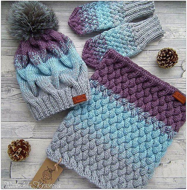 Очень красивый и наверное самый сложный в исполнении , но я его осилила да простит меня заказчица Состав полушерсть #шапканазаказ #комплектаксессуаров #комплектдлядевочки #снуд#снудназаказ#ручнаяработаназаказ #вяжуслюбовью❤️❤️❤️ #вязаниемоехобби #вяжутнетолькобабушки #knit #knits #knitting #knitwear #instagramers #instagramdogs #instagood #instaknit #moscow #followher #pleasefollow #handmade #rukodelie #likesforlikes #like4like #like