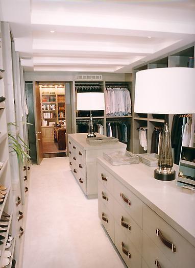 gambrel closet