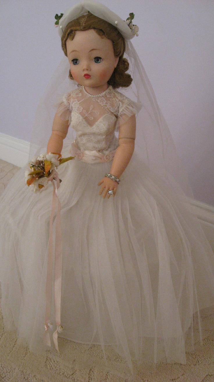 Madame Alexander Vintage Cissy Bride