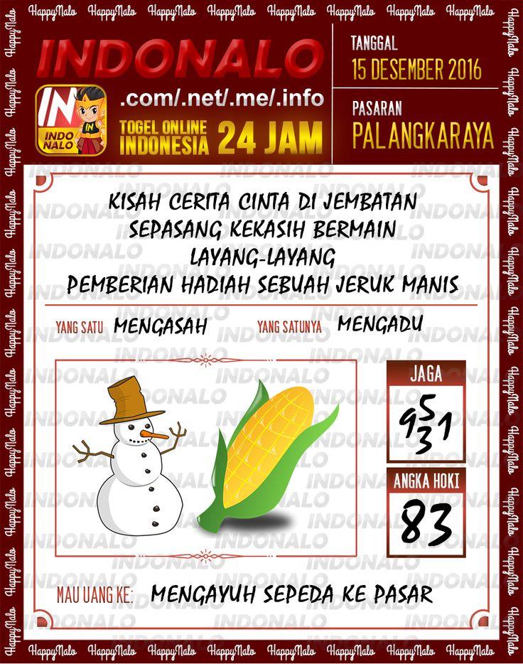 Tafsir Lotre 2D Togel Wap Online Live Draw 4D Indonalo Palangkaraya 15 Desember 2016