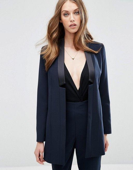 les 25 meilleures id es concernant blazer bleu marine femme sur pinterest escarpins bleu. Black Bedroom Furniture Sets. Home Design Ideas