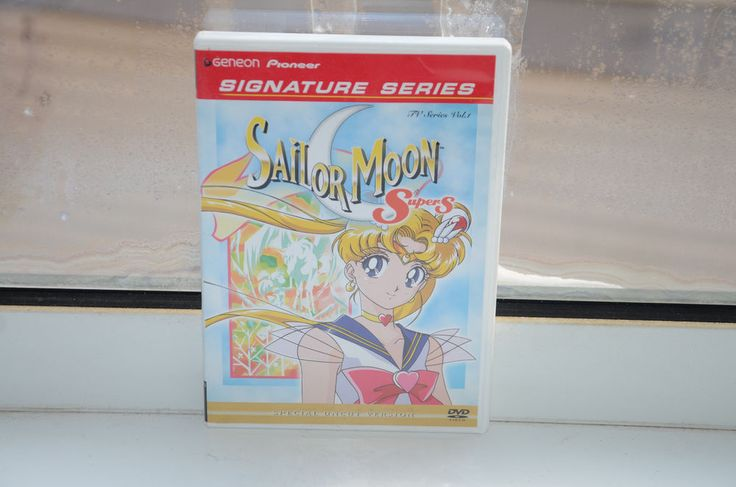 Sailor Moon SuperS Tv Series Vol. 1 2004 English Japanese Bilingual Pioneer