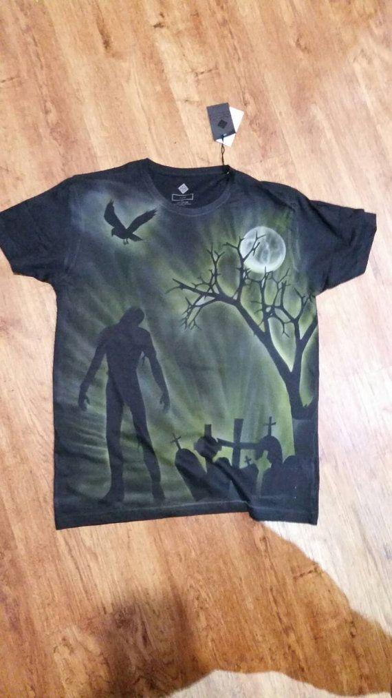 Zombie Tshirt by StevenLaneDesign on Etsy