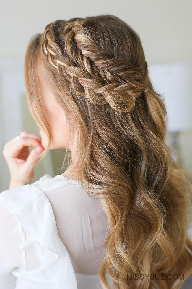 Mixed Dutch And Dutch Fishtail Braid 3 Ways Missy Sue Fish Tail Braid Braided Hairstyles Updo Tree Braids Hairstyles