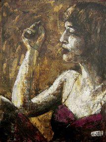 Jazz Lady ( ART ID# 6244) by Koos De Wet