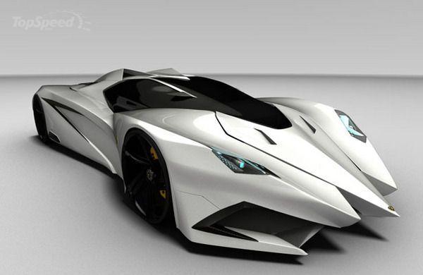 Lamborghini Ferruccio Concept, by Mark Hostler, a transportation design student at Staffordshire University