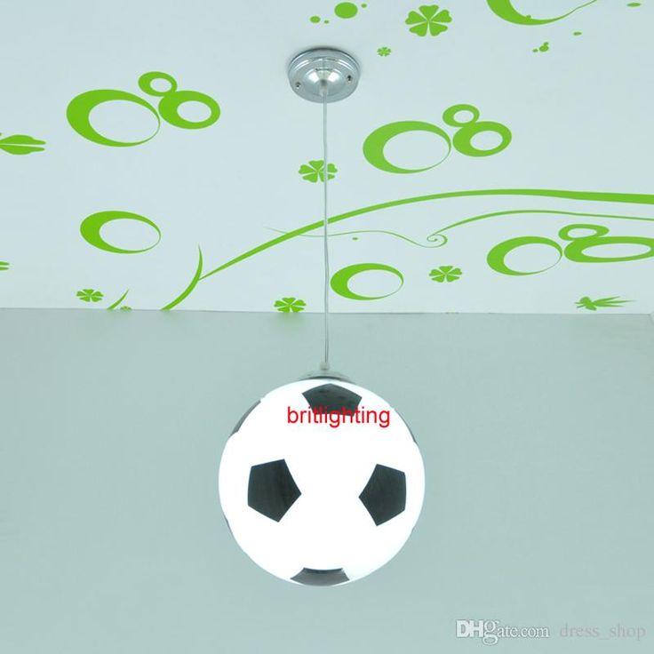 Modern Pendant Lamps Football Lighting For Kid'S Room Modern Pendant Lights For Bedroom Dining Room Hanging Lighting Football Bathroom Pendant Lights Kitchen Pendant Light Fixtures From Dress_shop, $55.28| Dhgate.Com