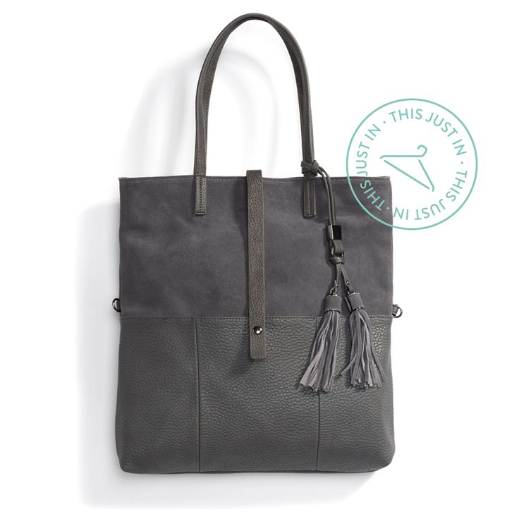 Be per-sueded to go grey. Cart all your carry-ons—including your laptop!—in a tonal tote this season. #trendalert #TSAapproved