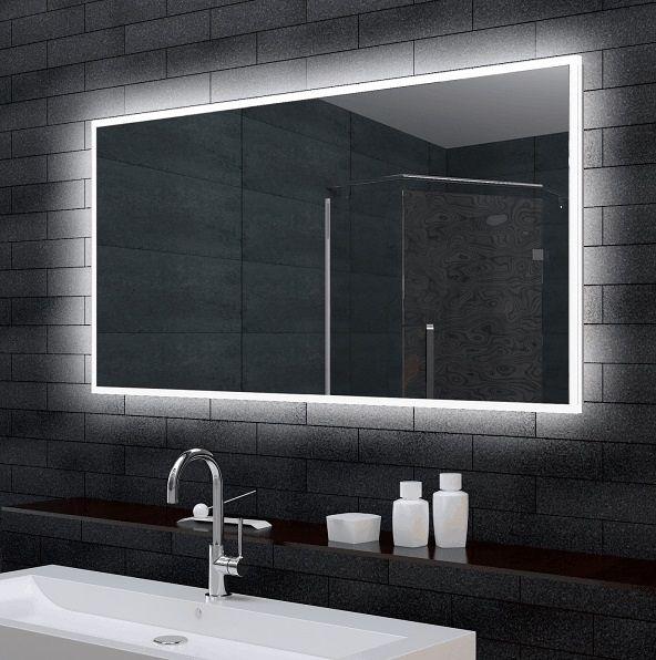 Zrcadlo LIGHT140 140 x 70 cm s LED osvětlením | Koupelny SEN
