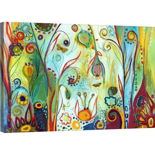Found it at Wayfair - Possibilities by Jennifer Lommers Painting Print on Gallery Wrapped Canvas