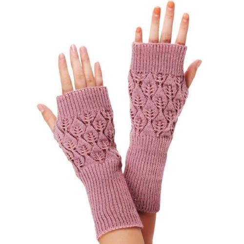 New-Fashion-Womens-Girls-Winter-Gloves-Knitted-Warm-Fingerless-Mittens