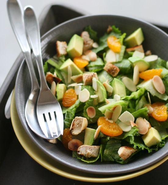 Mandarin Grilled Chicken Salad