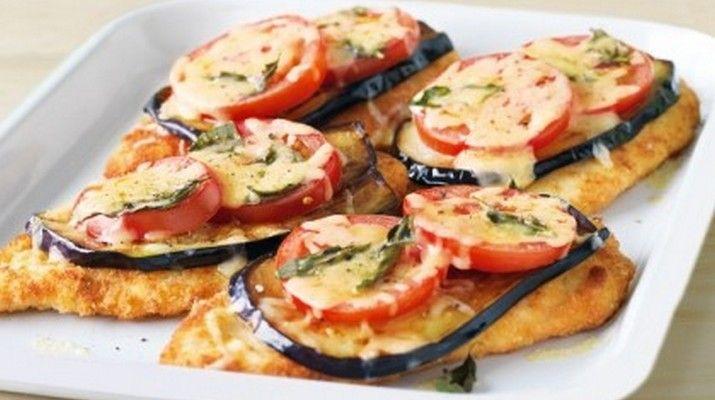 Вкуснейшее блюдо в исполнении куриного филе, баклажана и помидора. Не блюдо а песня!