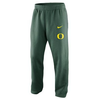 Nike Oregon Ducks College Classic Fleece Pants - Green