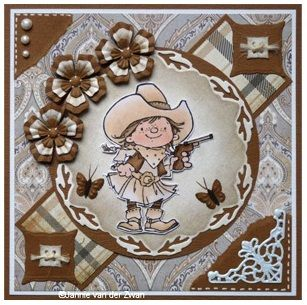 Nellie Snellen Clear Stamp - Young Rebel Revolver Babe