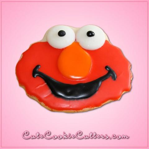 Elmo Cookie Cutter! @Lorna Larsen Cookie Cutters                                                                                                                                                                                 More