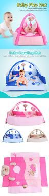 Baby Gyms and Play Mats 19069: 3In1 Baby Activity Mat Cute Cartoon Crawling Carpet With Hanging Toy 3 Colors -> BUY IT NOW ONLY: $36.96 on eBay!