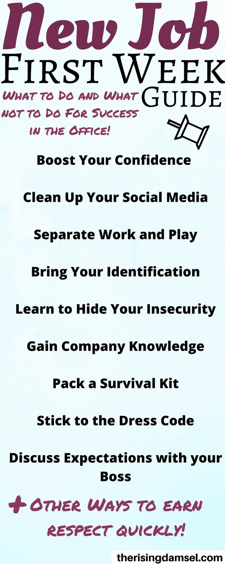 When Starting A New Job Use These Tips From Hr For Success Job Goals New Job Starting A New Job
