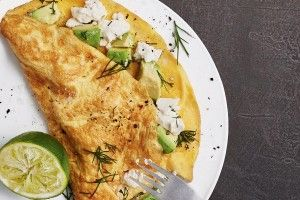 Super-quick weeknight omelette