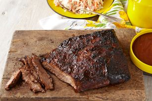 Honey-Cider BBQ Brisket Recipe... Sugar and spice and everything nice, that's what good BBQ is made of. Our stickily good sauce delivers with sweet honey, paprika and a kick of cayenne.