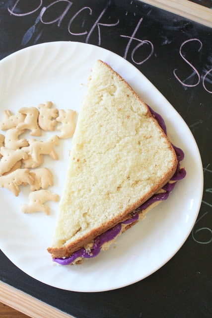 Peanut butter and Jelly cake | Sweet Tooth. (Desserts) | Pinterest