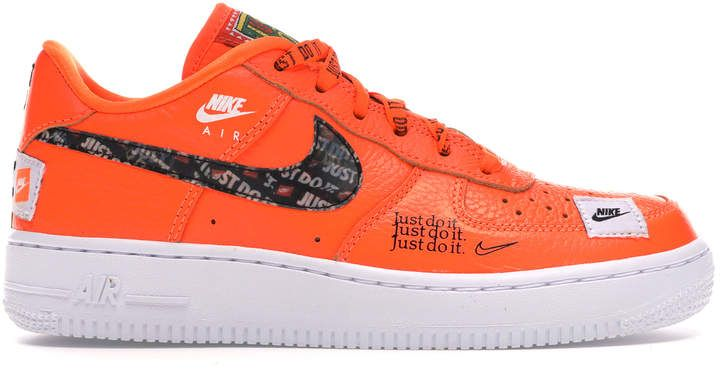Nike Air Force 1 Low Just Do It Pack Orange Gs In 2020 Nike