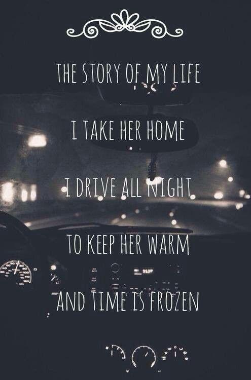 Du weißt das du ihr einst viel bedeutet hast. Und dieses Lied hat sie immer gehört wenn sie mit dir Streit hatte. | ~remember the old times♡