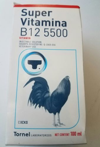 Backyard Poultry Supplies 177801: Super Vitamina B12 5500 Gallos Gamefowl -> BUY IT NOW ONLY: $68.0 on eBay!