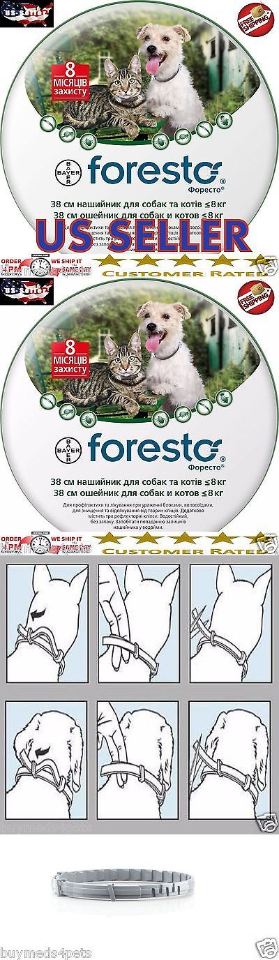Flea and Tick Remedies 20738: 5 X Bayer Seresto Foresto Flea And Tick Collar For Small Dogs And Cats Under 18Lbs -> BUY IT NOW ONLY: $177.95 on eBay!