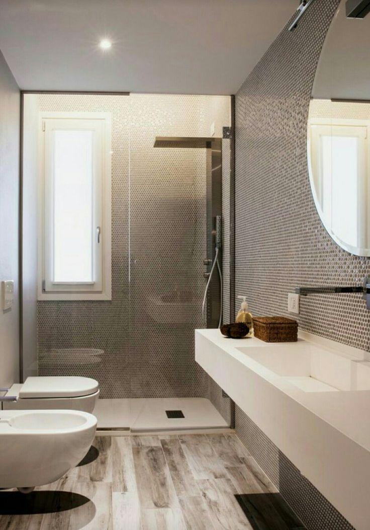 17 migliori idee su piccoli bagni moderni su pinterest for Piccoli bagni cabina