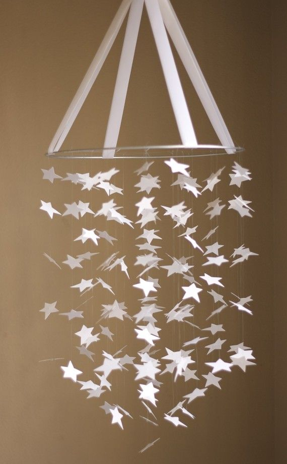 i did this for damiens room but with glow in the dark stars