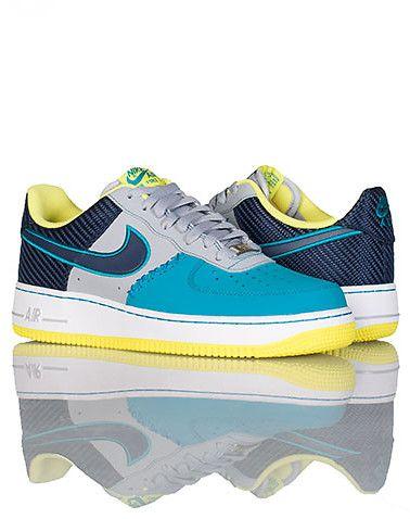 709ca27ee12a2f Nike Air Force One Low Sneaker (Grey) - 488298039