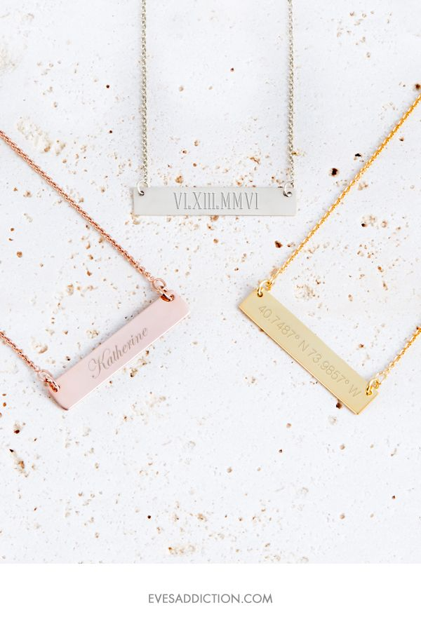 Best 37 Coordinates Necklace Longitude Latitude Necklace