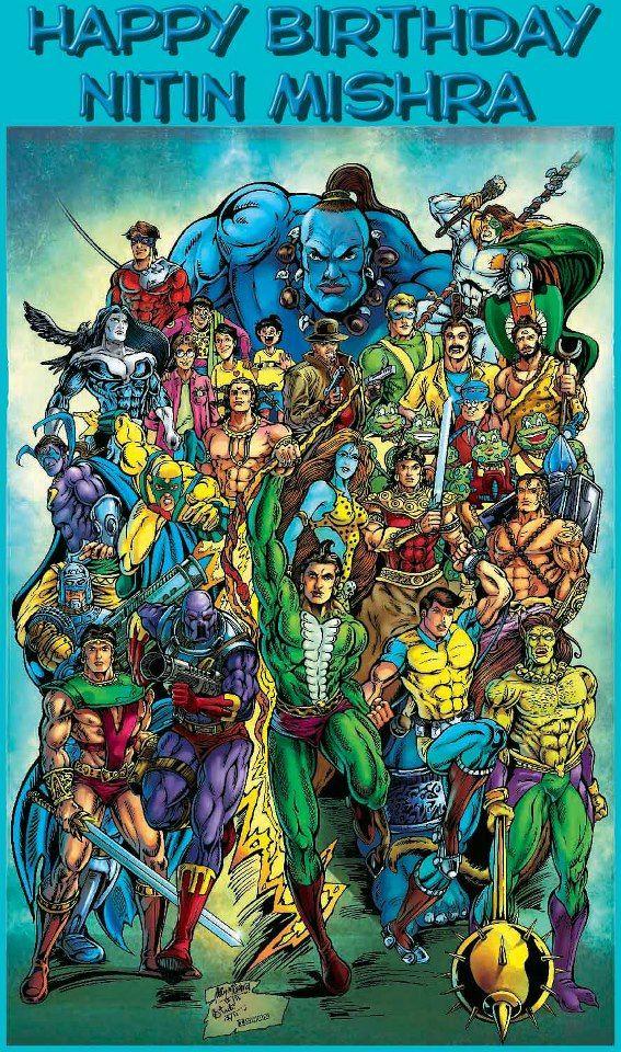 Raj Comics All Stars