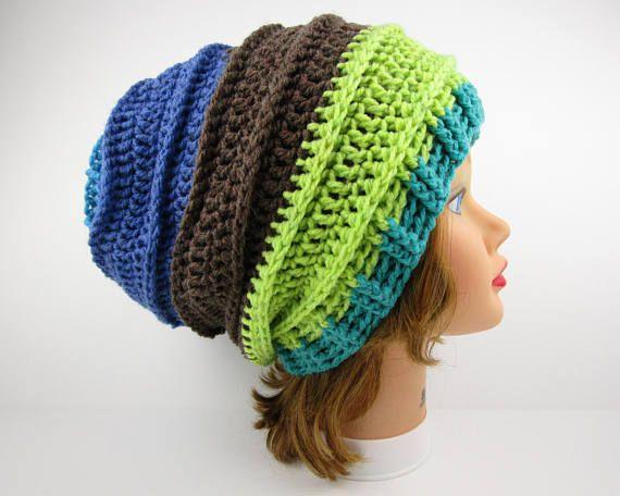 Slouchy Beanie Gelato Hat Crochet Hat Women's Beanie