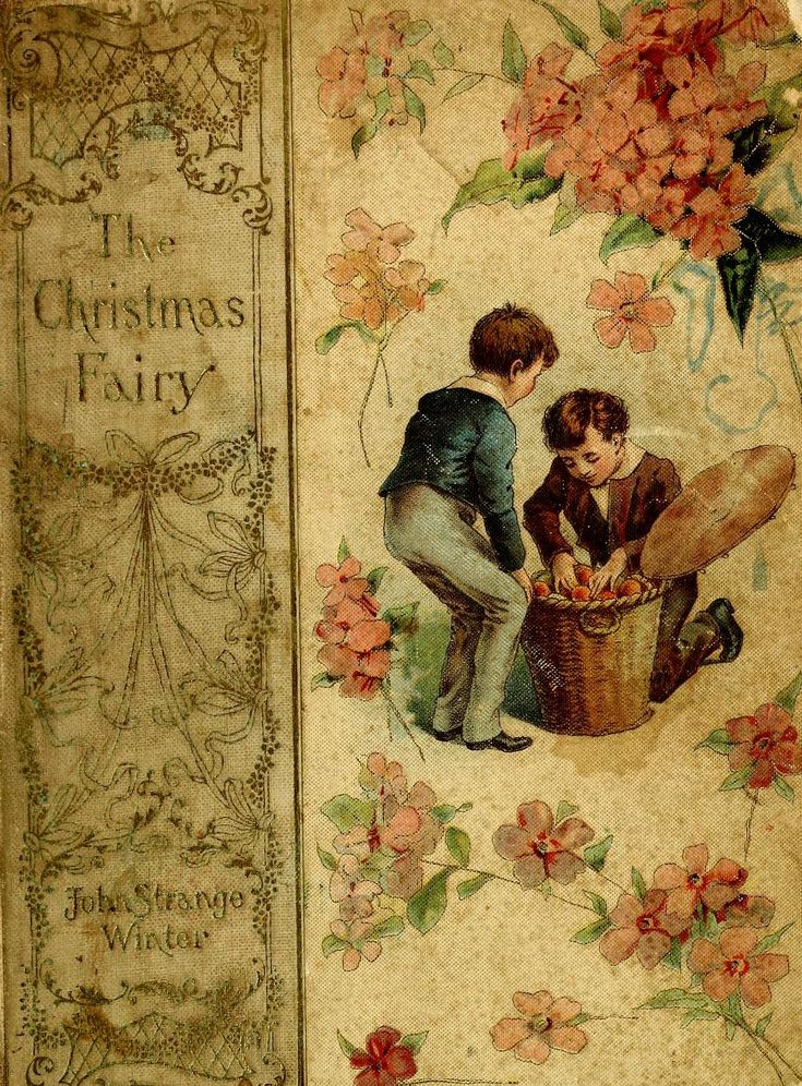 """""""The Christmas Fairy"""" By John Strange Winter (1900) Published By H Altemus"""