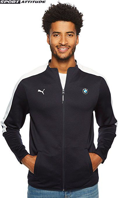 7a1bcc98ba9d Puma Mens BMW Motorsport T7 Track Jacket.  puma  sportswear  sports  men   amazon